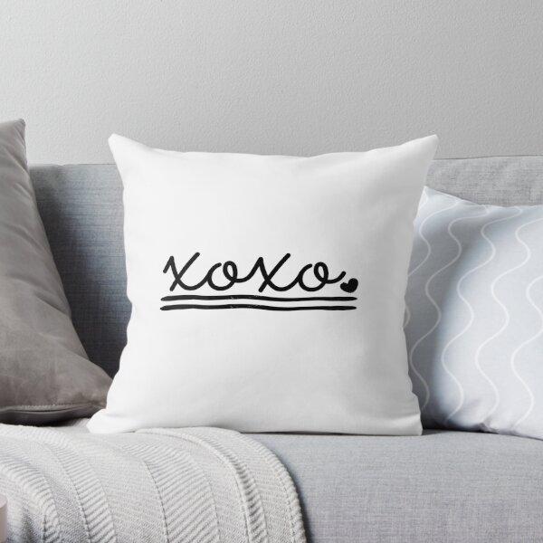 XOXO Style Throw Pillow