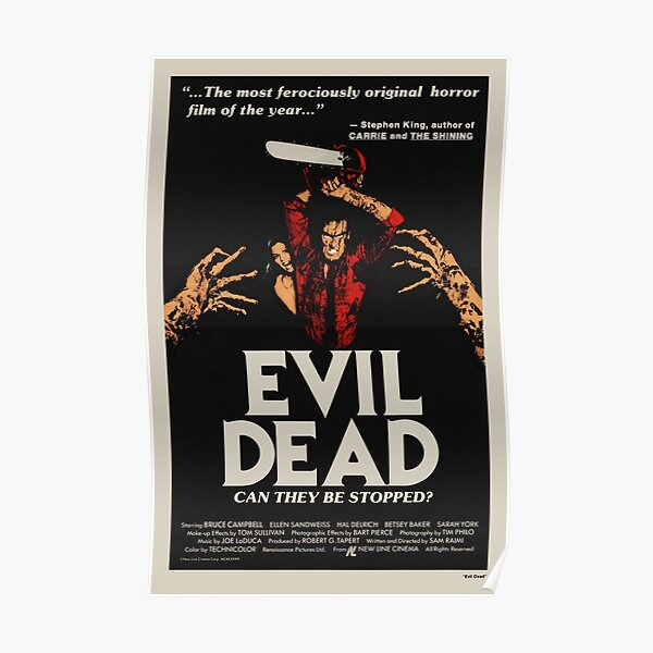 Evil Dead - Affiche de film vintage Poster