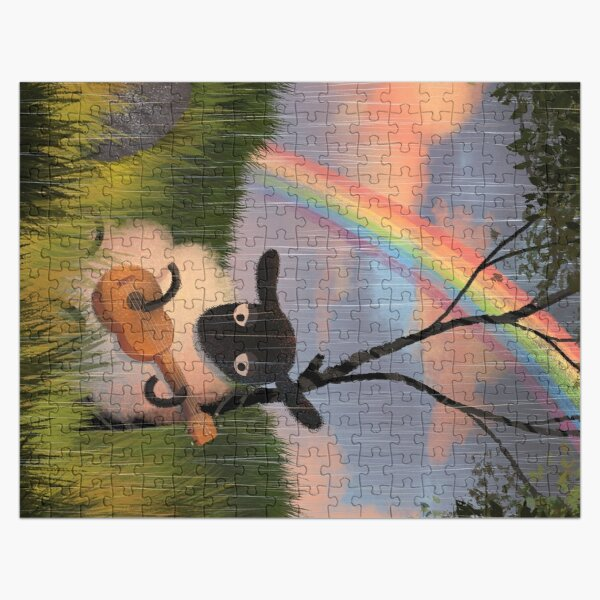 Sheep Playing Guitar Jigsaw Puzzle