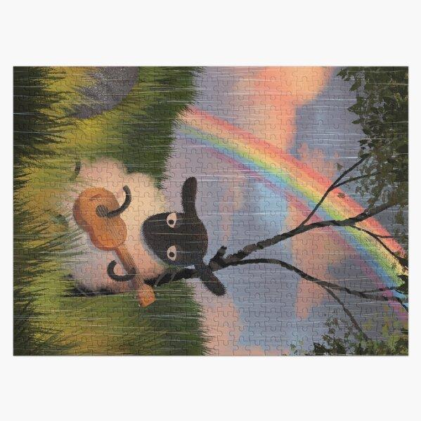 Sheep Playing Guitar Jigsaw Puzzle