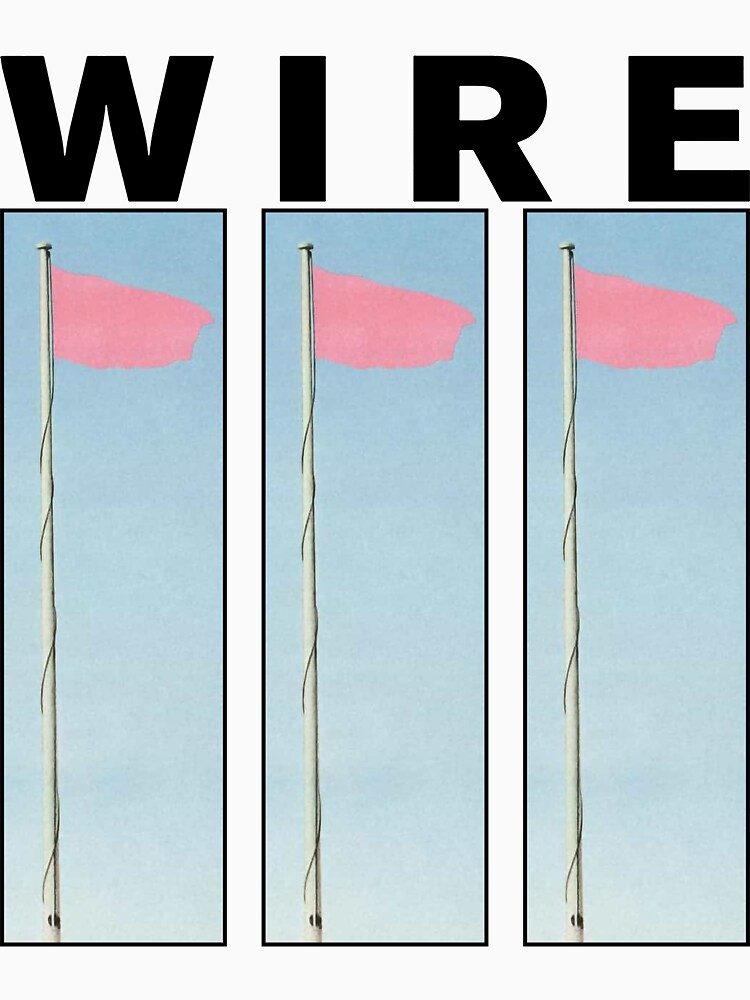 Wire Pink Flag by lenhowe1996