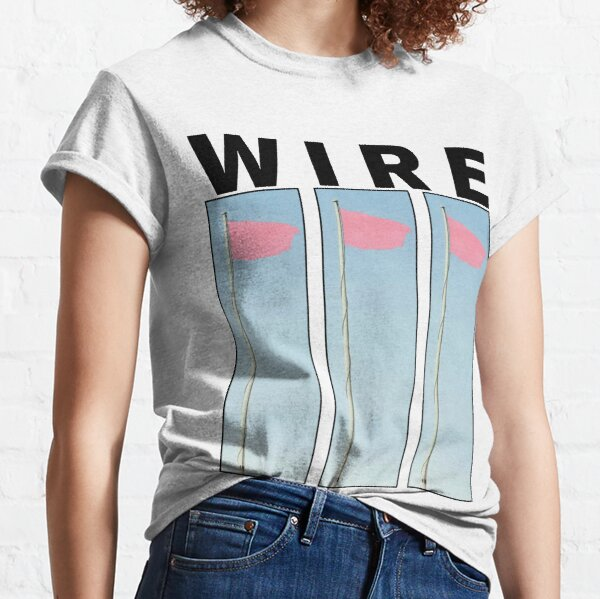 Wire Pink Flag Classic T-Shirt