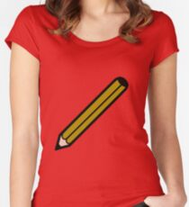 Pencil Women's Fitted Scoop T-Shirt