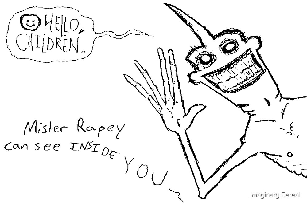 Mr. Rapey by Imaginary Cereal