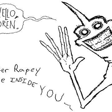 Mr. Rapey by NemoOmne