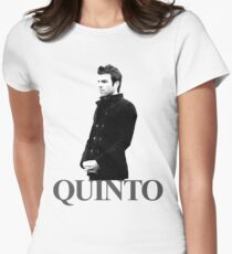 Zachary Quinto Women's Fitted T-Shirt