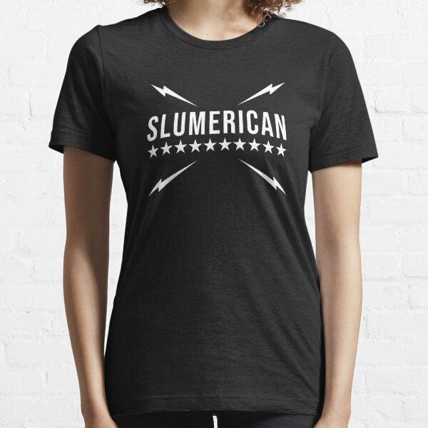 Slumerican Flag Letter Essential T-Shirt
