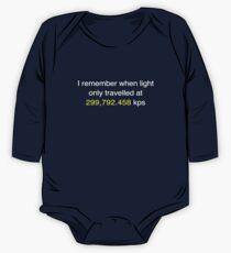 E=MC2  ?       Light Speed Tee (metric) Kids Clothes