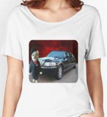 Teddy Bear Limousine Chauffeur Kids (CHILDRENS) Tee Shirt Women's Relaxed Fit T-Shirt
