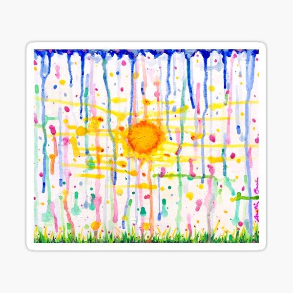 Sun-Shower  Sticker