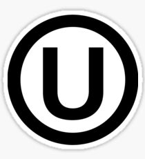 kosher symbol Sticker