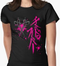 Dangan Ronpa: Genocider Syo Bloodstain Fever t-shirt Women's Fitted T-Shirt