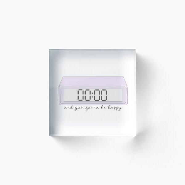 BTS Zero O'clock Acrylic Block