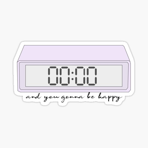 BTS Zero O'clock Sticker