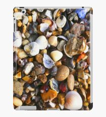 Pebbles & Shells at the Seaside iPad Case/Skin