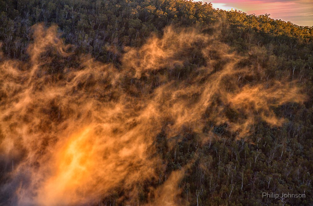 Mists of Morn - Snowy Mountains National Park - The HDR Experience by Philip Johnson