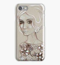 Flowers I Keep iPhone Case/Skin