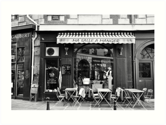 A Little Parisian Cafe by Lisa Williams