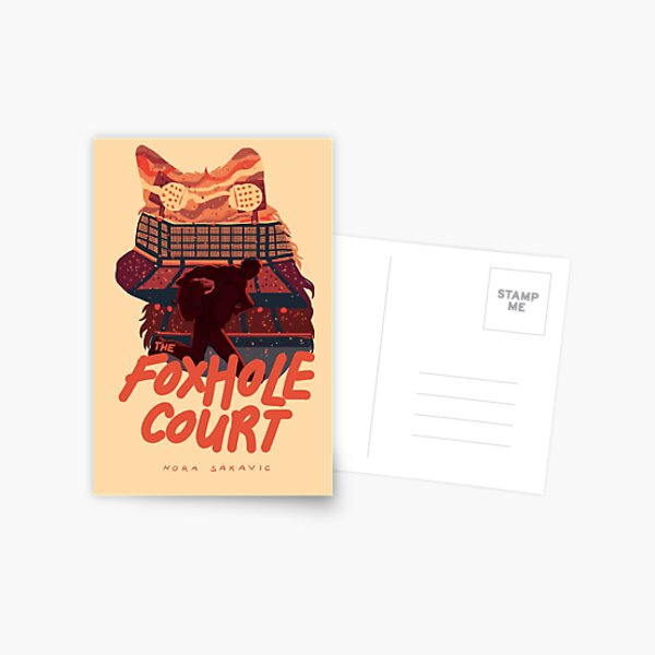The Foxhole Court Book Cover Postcard
