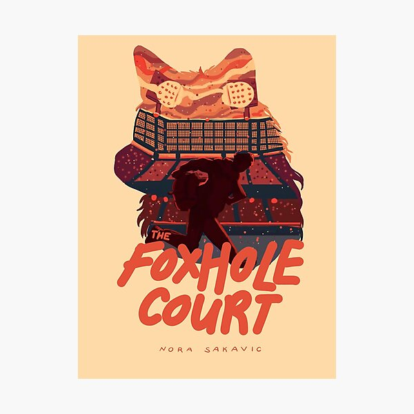 The Foxhole Court Book Cover Photographic Print