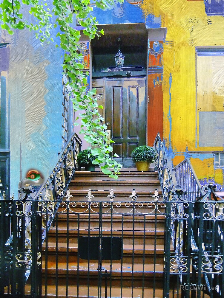 Townhouse in Spring by RC deWinter