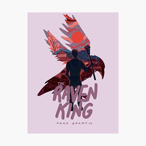 The Raven King Book Cover Photographic Print
