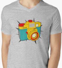 HOLGA COLOR Men's V-Neck T-Shirt