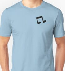 The Minimalist Vinyl Scratch Unisex T-Shirt