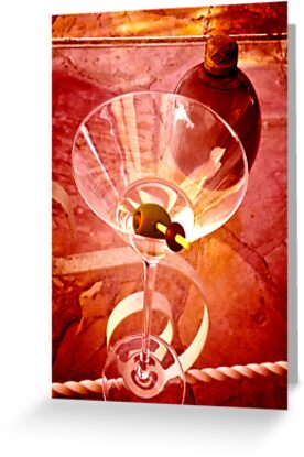 MARTINI (CARD ONLY) by Thomas Barker-Detwiler