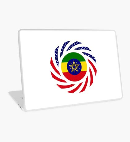Ethiopian American Multinational Patriot Flag Series Laptop Skin