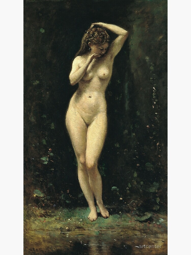 Camille Corot - Diana Bathing (The Fountain) by artcenter