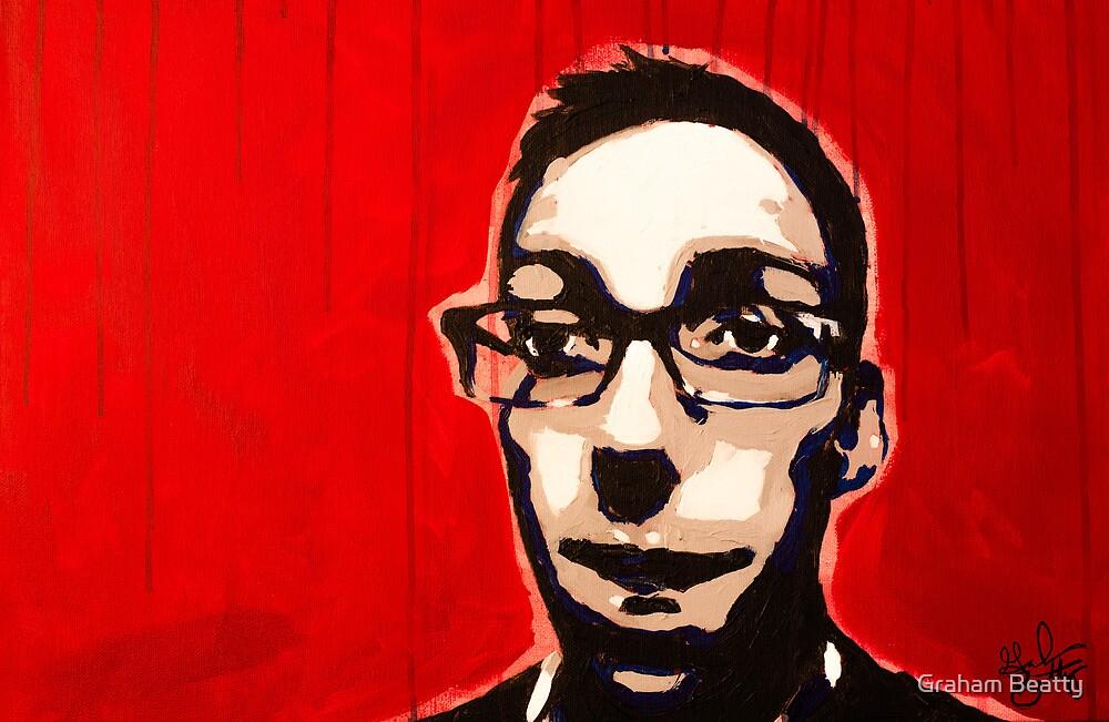 Self Portrait, 2012 by Graham Beatty