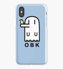 Nichijou OBK Obake t-shirt iPhone Case