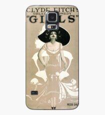 Vintage poster - Girls Case/Skin for Samsung Galaxy