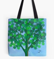 FLORAL PUNCH FLOWERS Tote Bag