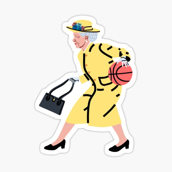 Balling Queen Sticker