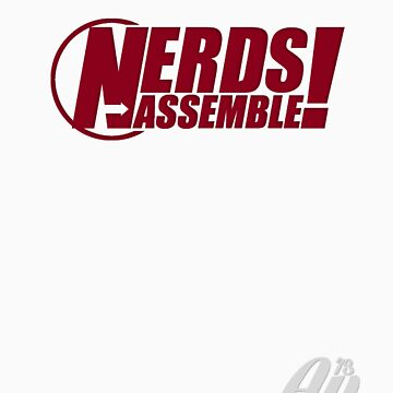 Nerds Assemble, red by WilsonClairAmy