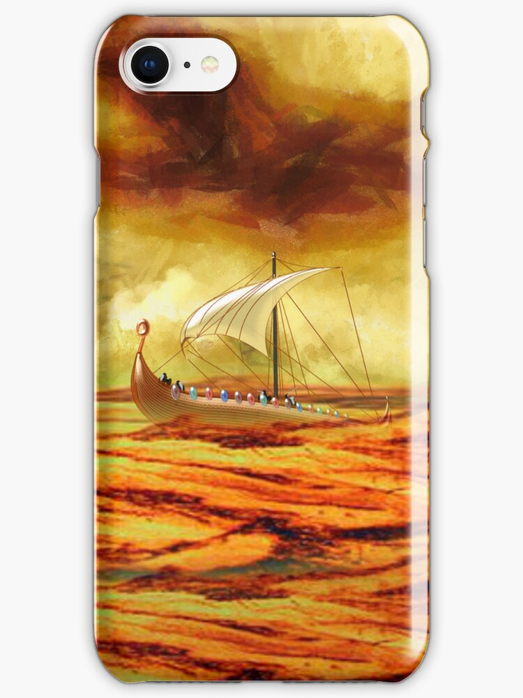 The Vikings are Coming iPhone/iPod case by Dennis Melling