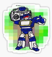 boomin' soundwave Sticker