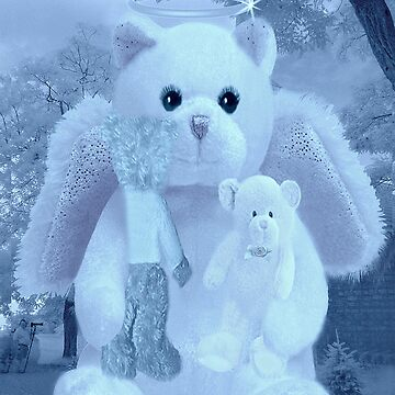 ❀◕‿◕❀HUGS,A KISS AND AFFECTION FROM A BEARY SPECIAL ANGEL CARD/PICTURE VERSION TWO❀◕‿◕❀ by Rapture777