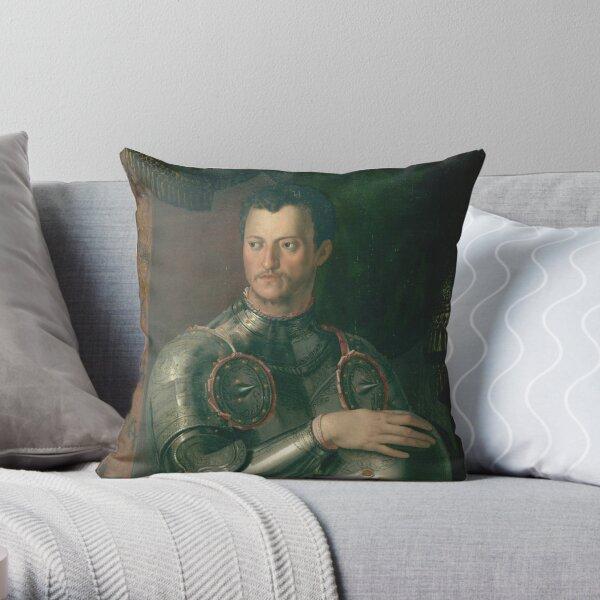 Bronzino - Cosimo I De Medici Throw Pillow