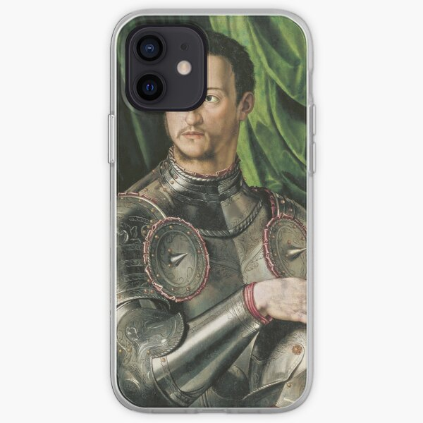 Bronzino - Cosimo De Medici In Armour iPhone Soft Case
