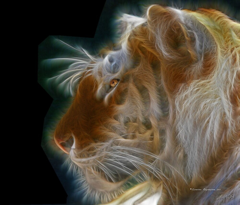 """C.E. Tiger Poster (Max size 14"""" x 12"""") by galet09"""