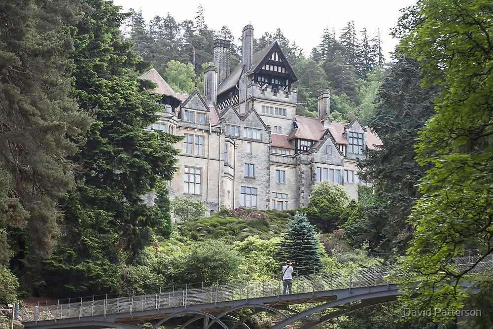 Victorian house At Cragside by David Patterson