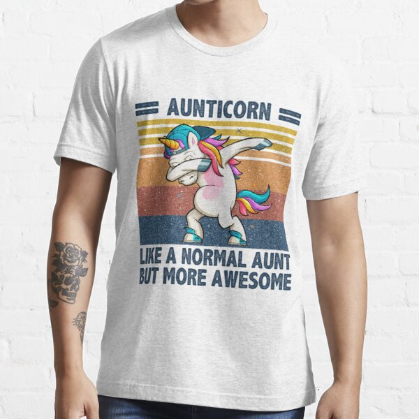 Nur mehr tolles T-Shirt für Tante Einhorn Essential T-Shirt