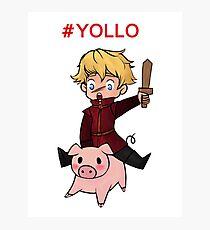 #YOLLO Photographic Print