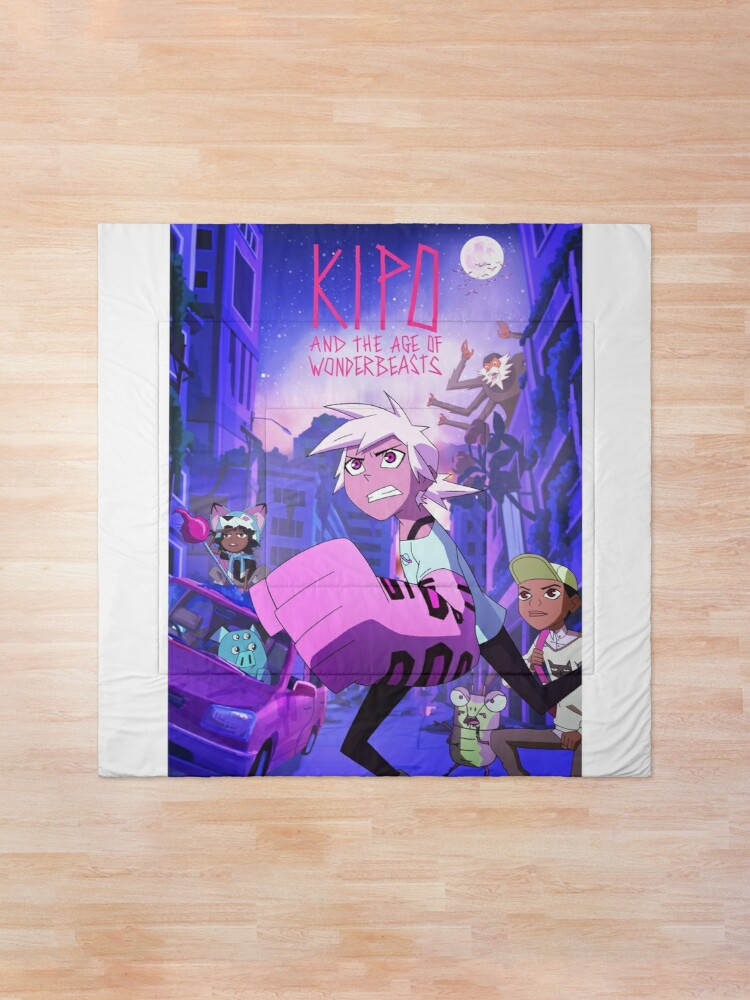 Alternate view of Kipo and the Age of Wonderbeasts Comforter
