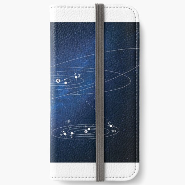 Spacey space iPhone Wallet