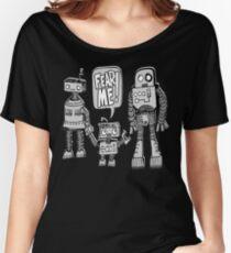FEAR ME! Robot Kid Women's Relaxed Fit T-Shirt