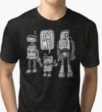 FEAR ME! Robot Kid Tri-blend T-Shirt